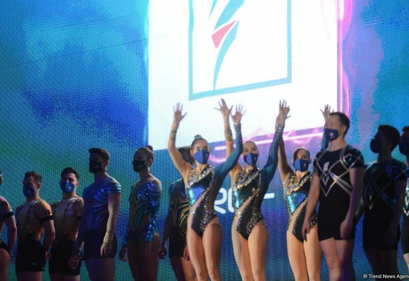 В Баку стартовали финальные соревнования 16-го чемпионата мира по аэробной гимнастике