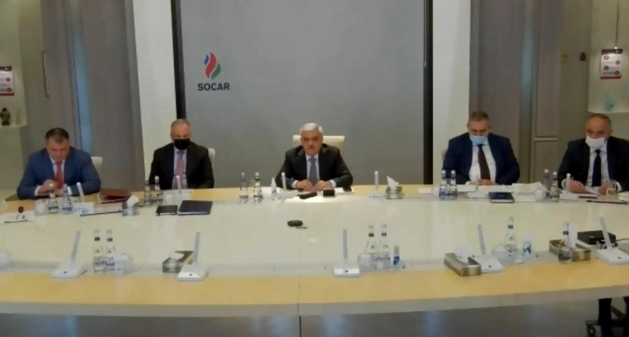 Обсуждена реализация финансового плана SOCAR на 2021 год