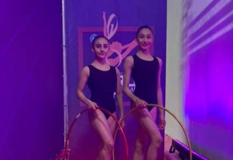 Азербайджанские спортсменки выступили на Кубке мира по художественной гимнастике в Италии
