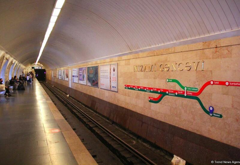 Возобновлено движение поездов на всех линиях бакинского метрополитена