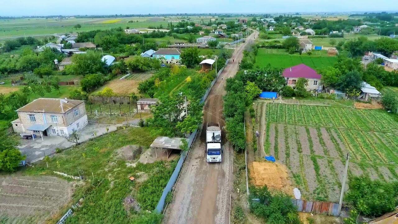 В Тертере реконструируются дороги