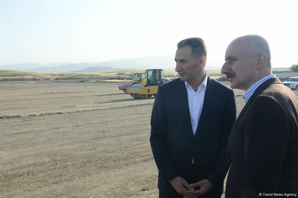 Международный аэропорт Физули планируется сдать в эксплуатацию до конца года