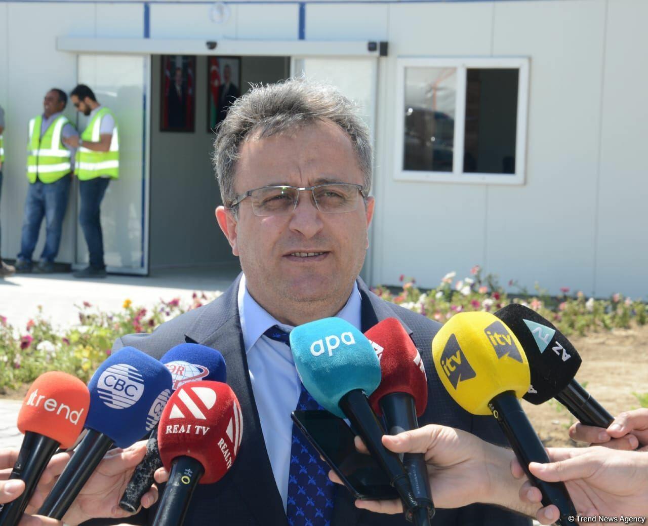 Horadiz-Mincivan-Ağbənd avtomobil 2023-cü ildə istifadəyə veriləcək