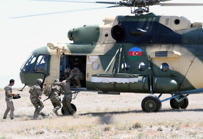 Новые кадры учений с участием азербайджанских военных в Турции