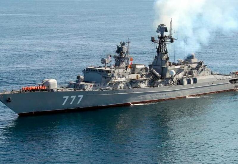 У берегов Ирана затонул военный корабль