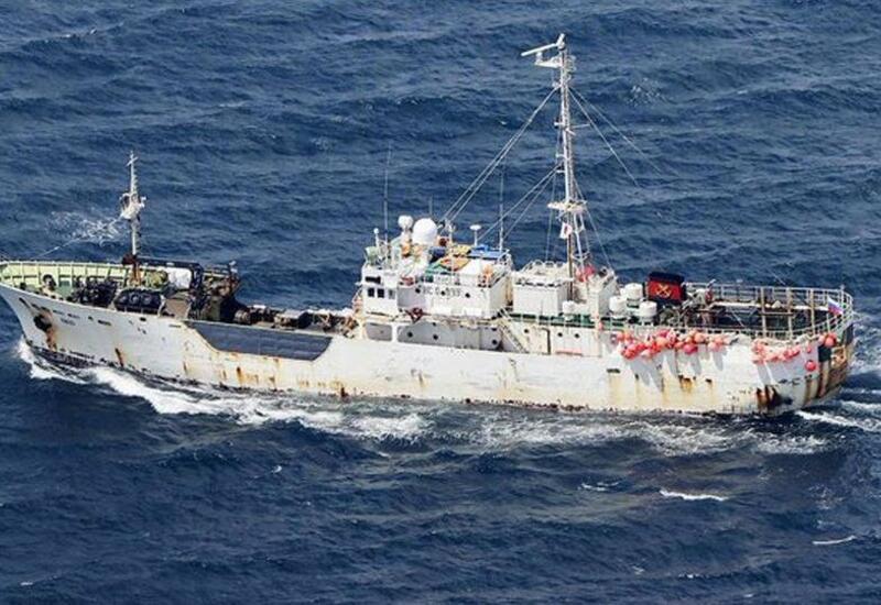 Российское судно задержали в Японии под залог