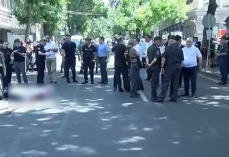 В центре Еревана застрелили мужчину
