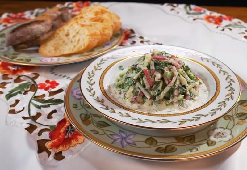 Рецепт летнего салата от Сталика Ханкишиева