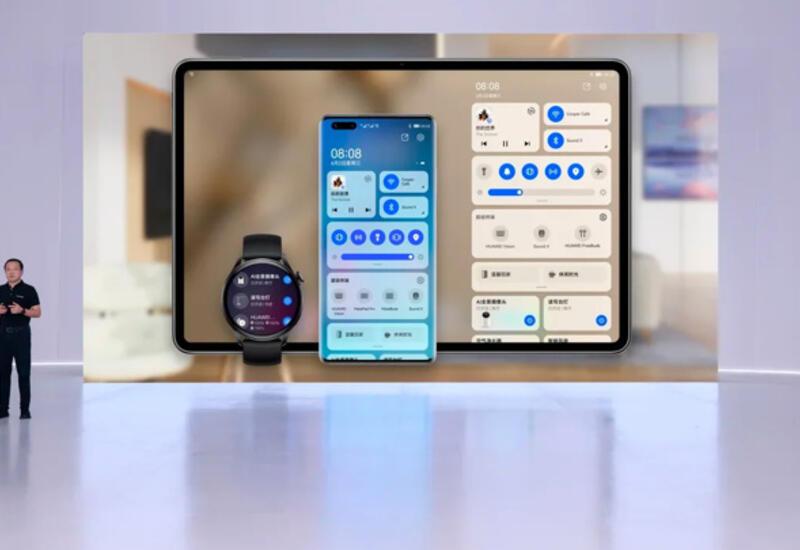 Huawei показала первые гаджеты на HarmonyOS 2