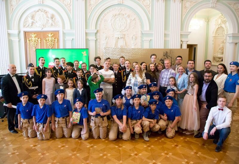 Фонд культуры России и представительство Фонда Гейдара Алиева в РФ организовали праздничное мероприятие для детей