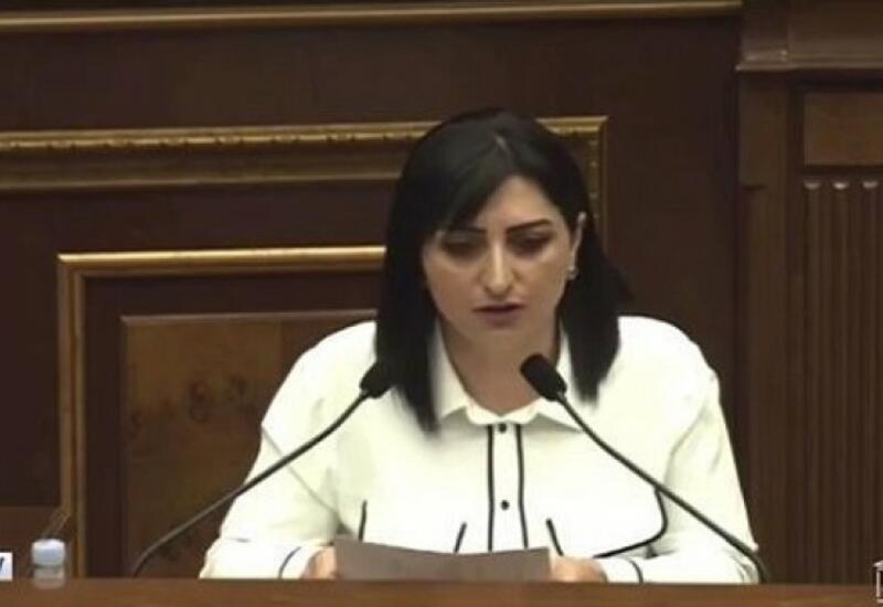 Вице-спикер парламента Армении назвала депутата «идиоткой» прямо во время заседания