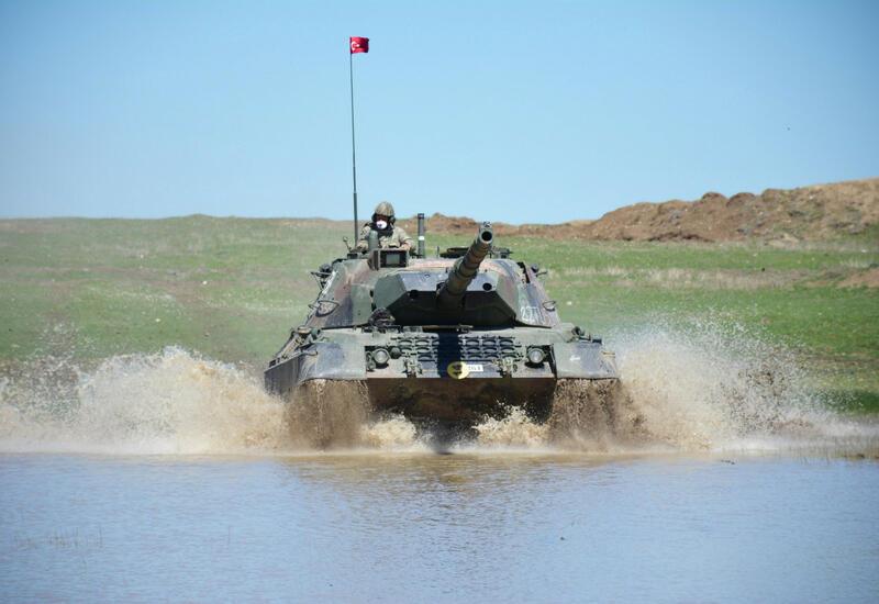 Азербайджанские военнослужащие приняли участие в учениях в Турции