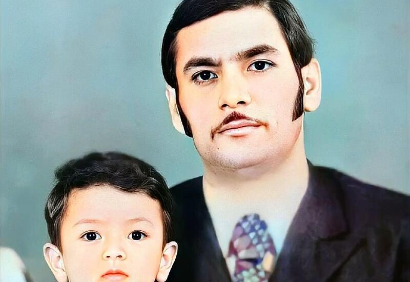 Фаиг Агаев поделился архивным фото с отцом