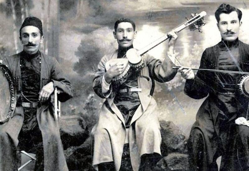 Народные песни, возникшие в Шуше