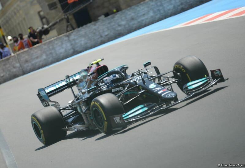 Названы победители квалификационного заезда Гран-при Азербайджана Формулы 1