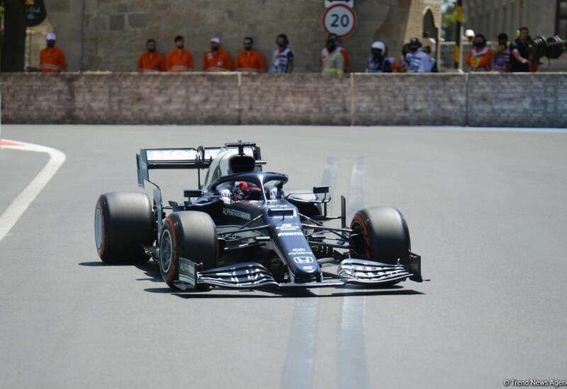 На Гран-при Азербайджана определились победители третьей сессии свободных заездов Формулы-1