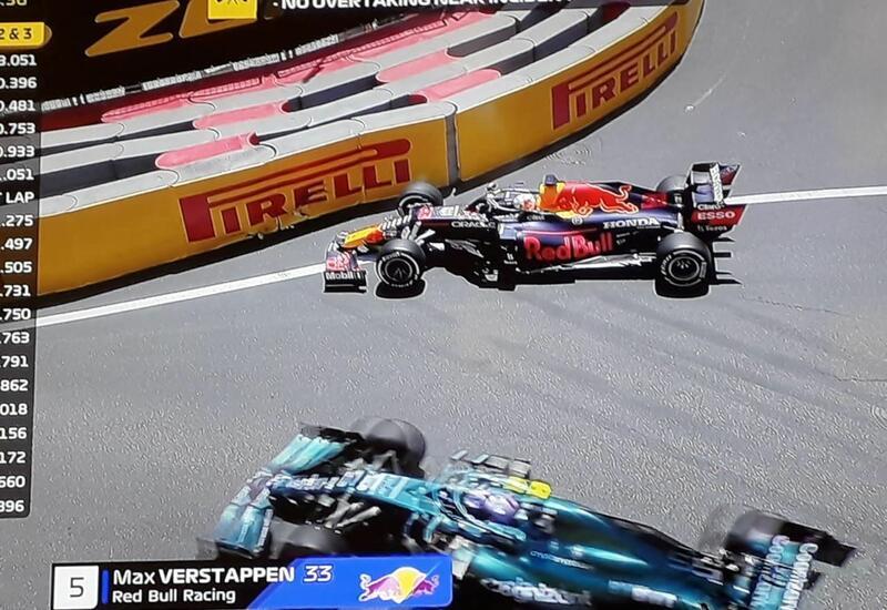Очередная авария на Гран-при Азербайджана Формулы-1