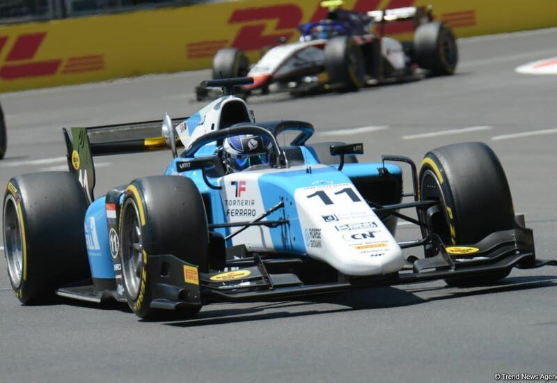 Названы победители спринтерских гонок в классе Формулы-2 в рамках Гран-при Азербайджана