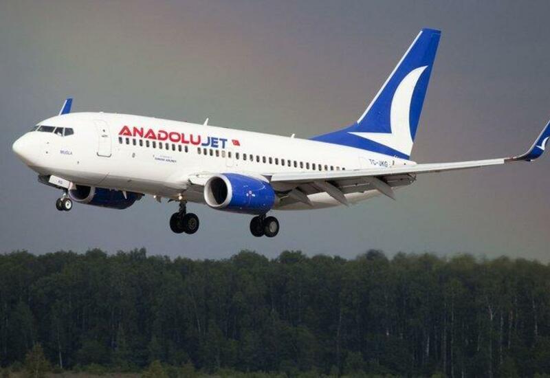 AnadoluJet начинает осуществлять рейсы Анталья – Баку – Анталья