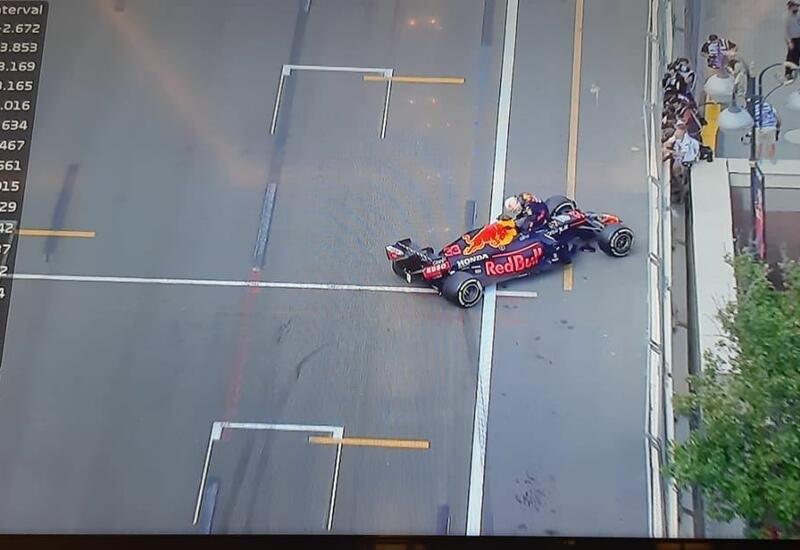 Еще одна авария на Гран-при Азербайджана Формулы-1