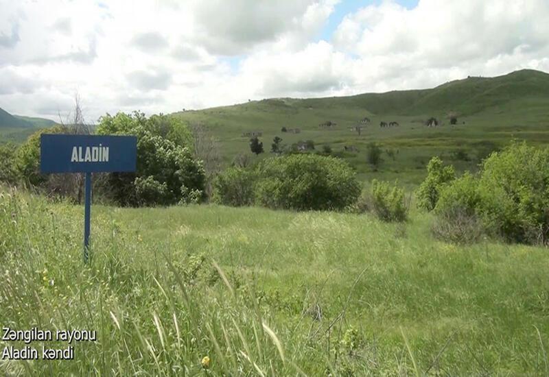 Село Аладин Зангиланского района