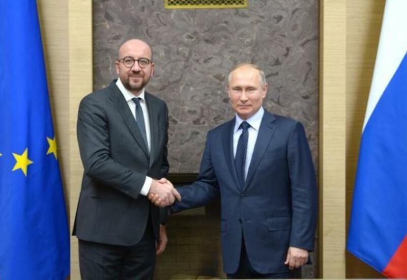 Шарль Мишель и Владимир Путин обсудили армяно-азербайджанский конфликт