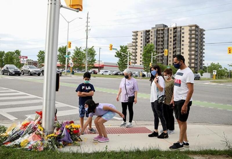 Автомобиль намеренно сбил мусульманскую семью в Канаде,