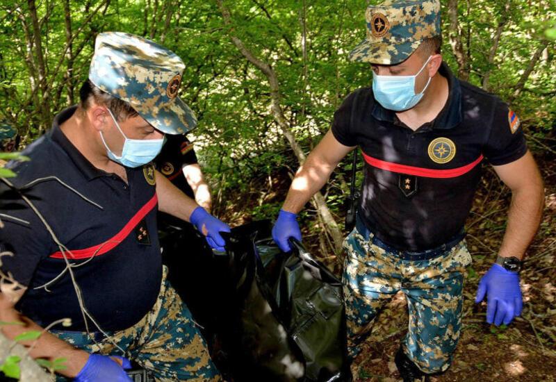 В Карабахе вновь найдены останки армянских солдат