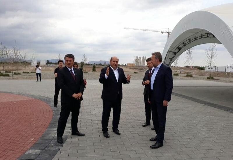 Началась поездка делегации Боснии и Герцеговины в освобожденный Агдам