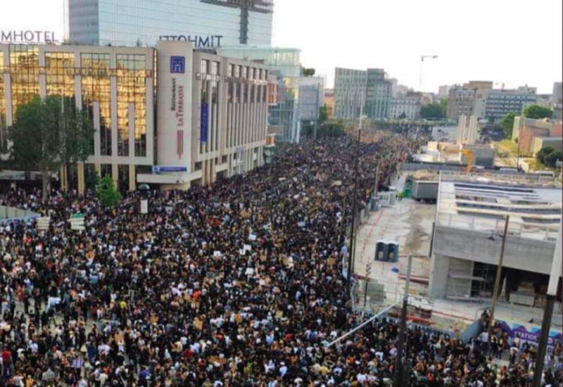 Во Франции прошла акция протеста против армянских убийц