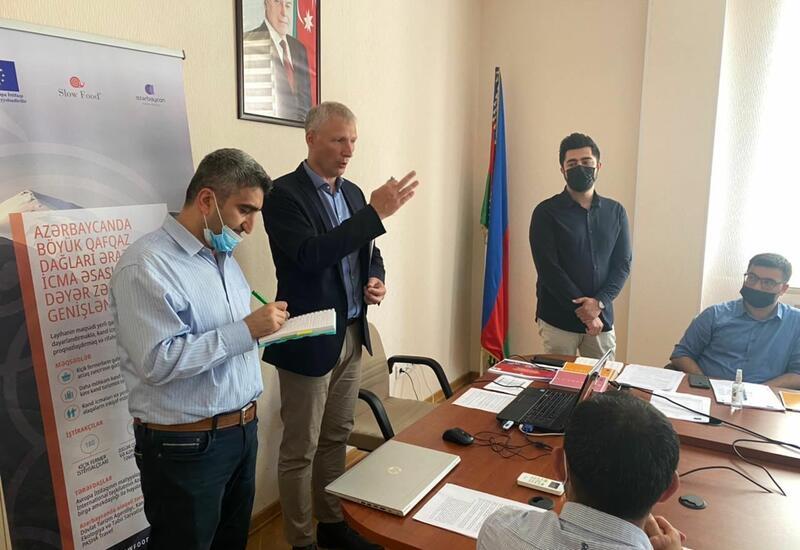 ЕС проведет в Азербайджане семинары в рамках проекта Slow Food Travel