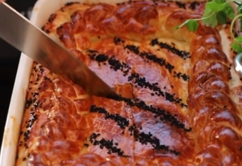 Мясной пирог из сказки