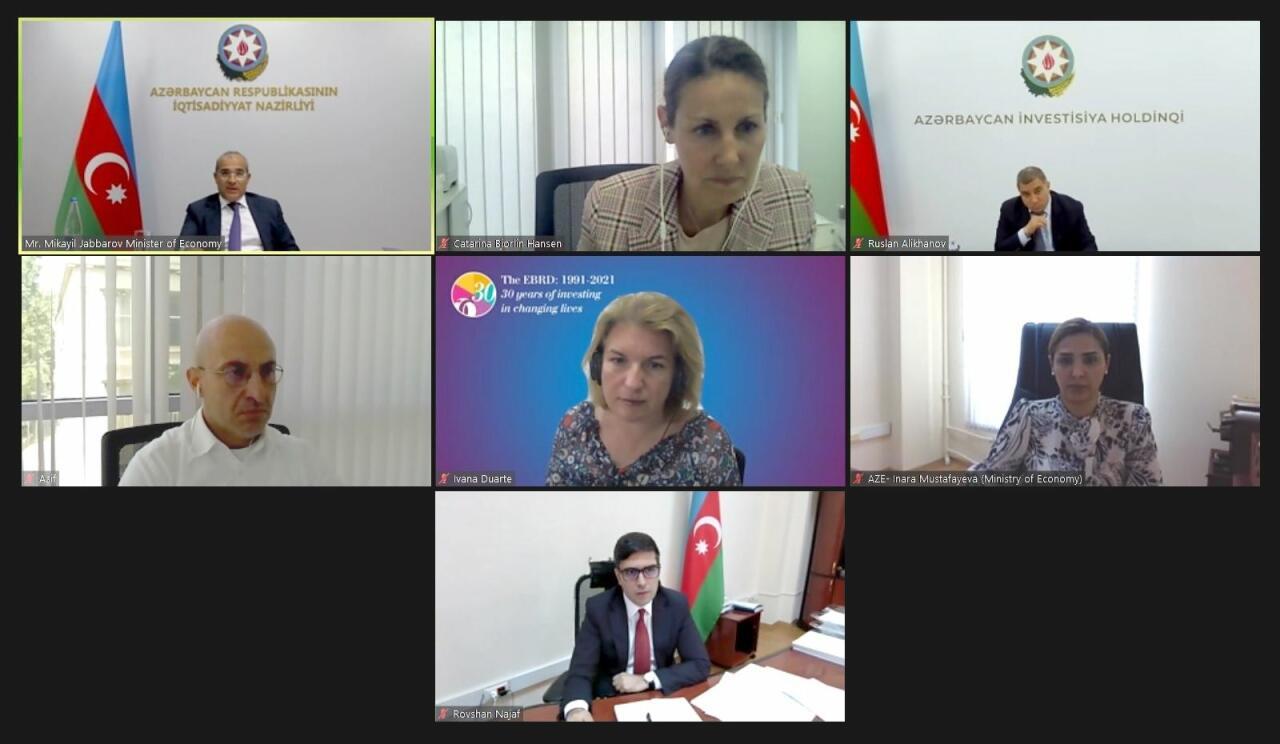 Обсуждено участие ЕБРР в восстановлении Карабаха