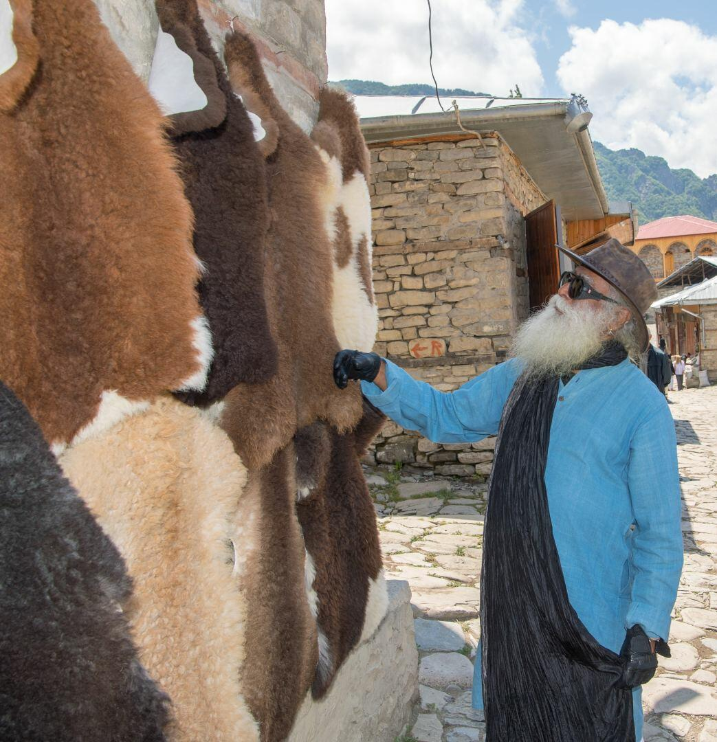 Всемирно известный Садхгуру побывал в Исмаиллинском и Шамахинском районах