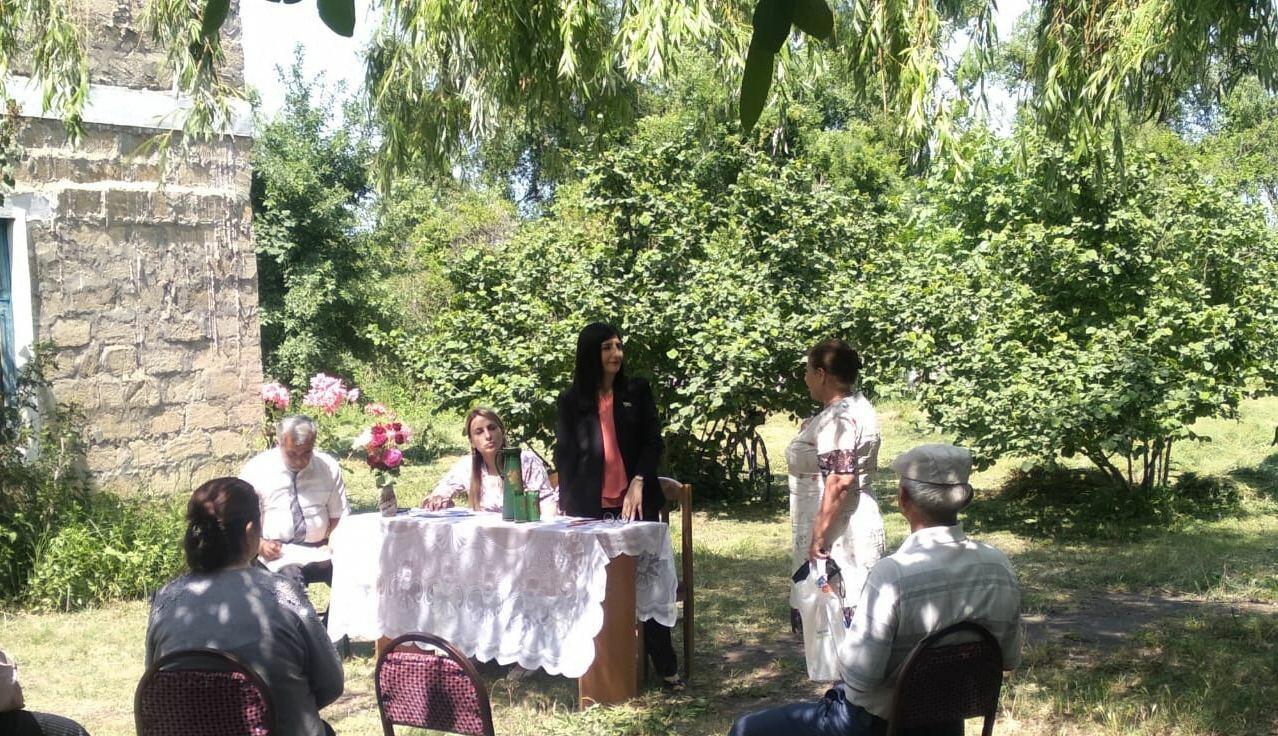 Депутат Севиль Микаилова провела очередную встречу с избирателями в Хачмазе