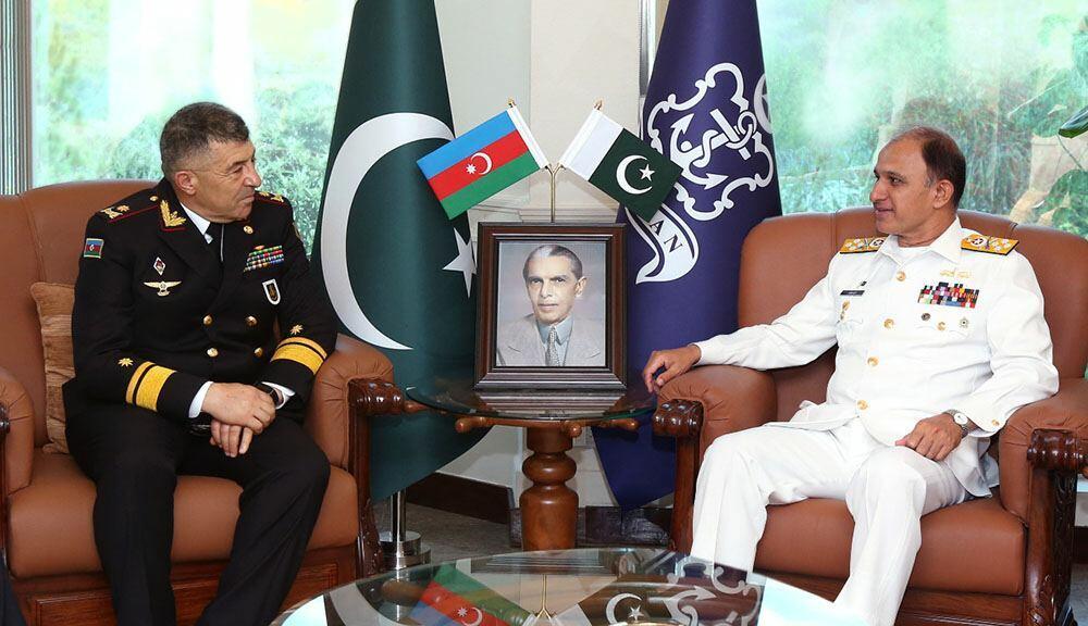 Состоялась встреча командующих ВМС Азербайджана и Пакистана