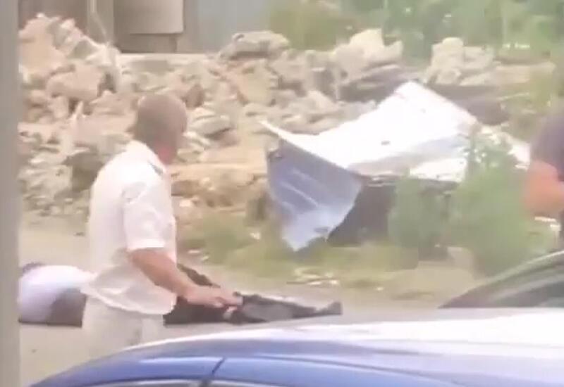 В Сочи снесли самострой армянина, расстрелявшего судебных приставов