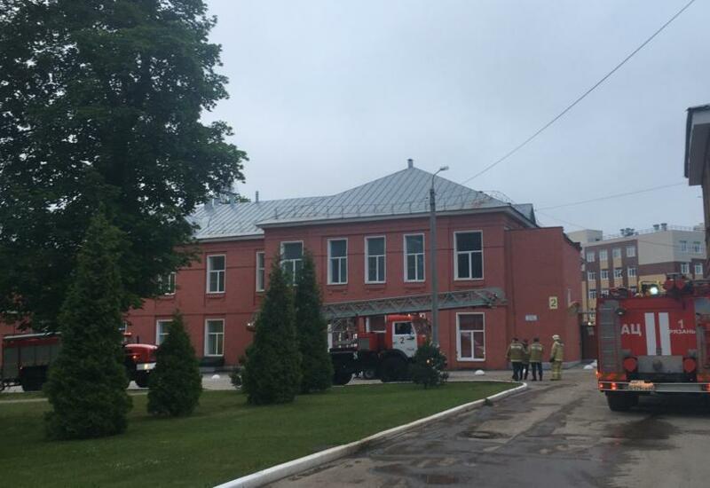 Пожар в больнице в Рязани - есть погибшие и раненые