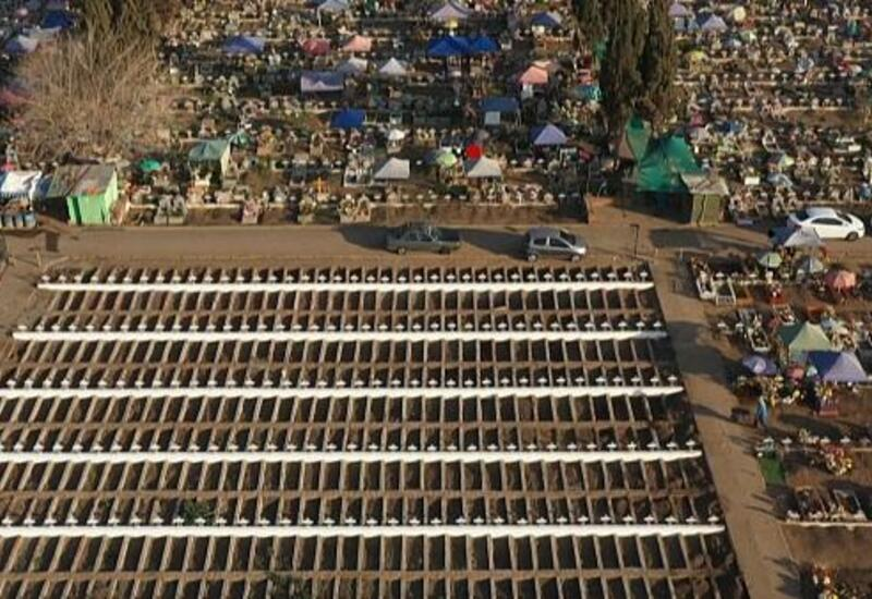 Коронавирус: в Чили растут кладбища