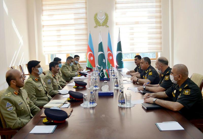В Баку военные Азербайджана и Пакистана обсудили вопросы оперативного планирования
