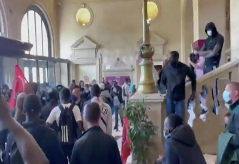 Мусорщики устроили погром в Париже