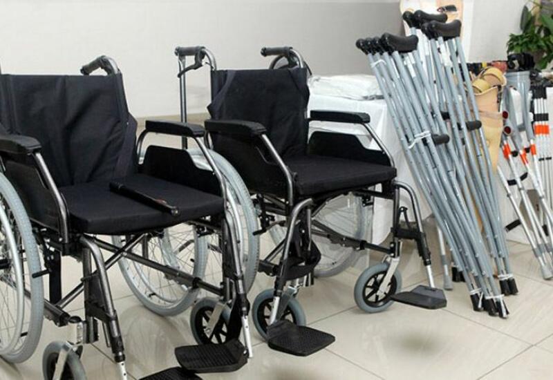 В 2021 году инвалидам в Азербайджане передали около 18 тыс. средств реабилитации