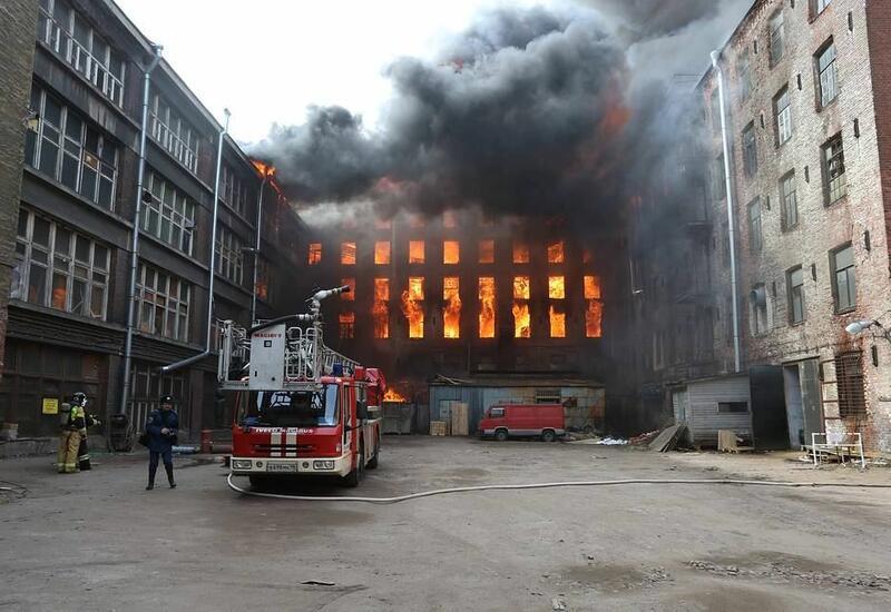 В России при пожаре в реанимации погибли три человека