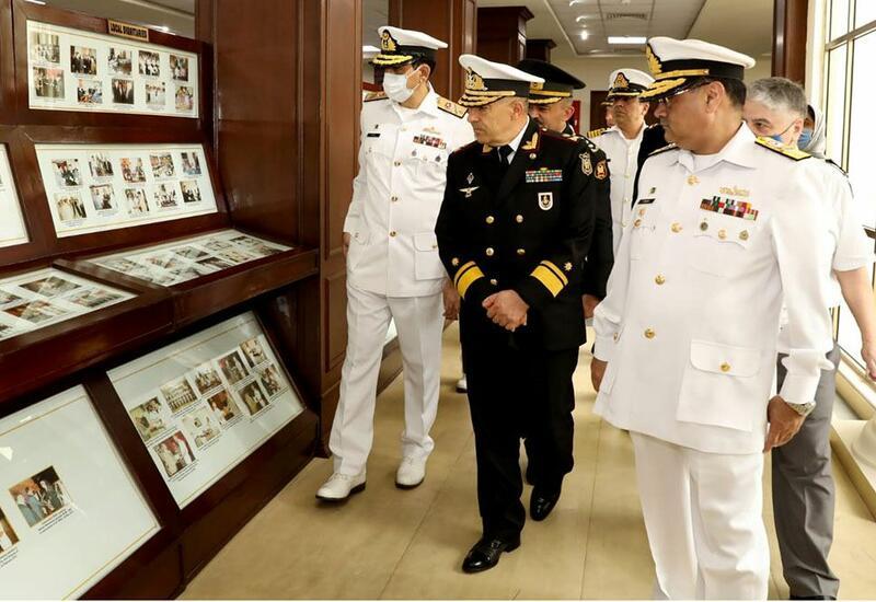 Командующий ВМС Азербайджана посетил Военно-морскую академию Пакистана