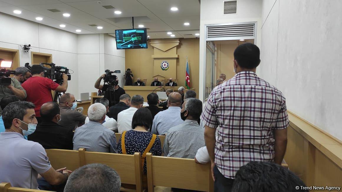 Началось судебное заседание по делу армянских боевиков, пытавших азербайджанских пленных