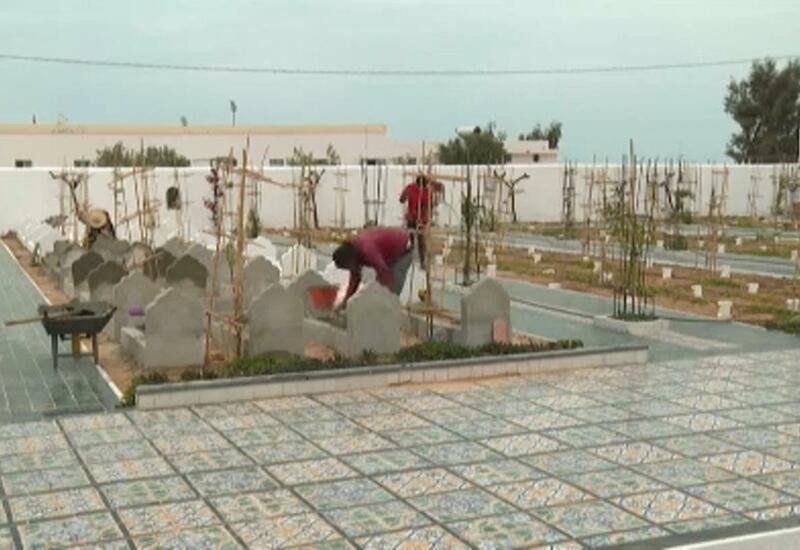 Кладбище для утонувших мигрантов на юге Туниса