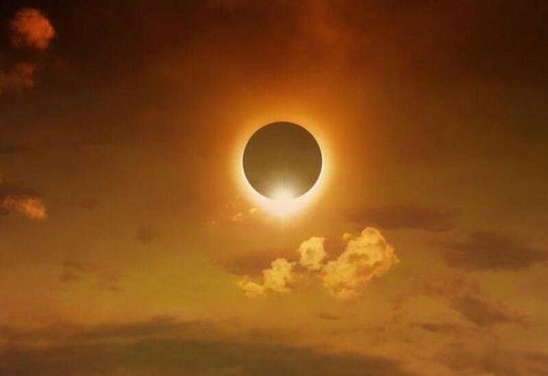 Началось первое в году солнечное затмение