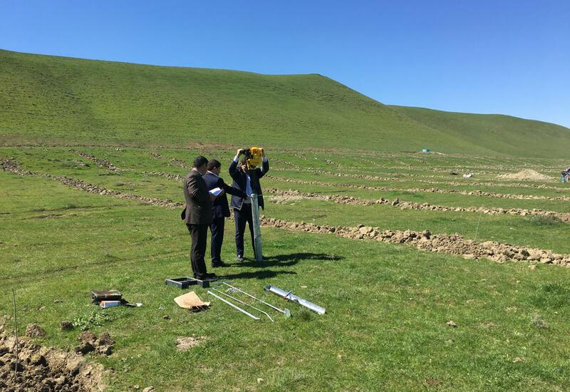 Начались полевые исследования почвы на освобожденных территориях Азербайджана
