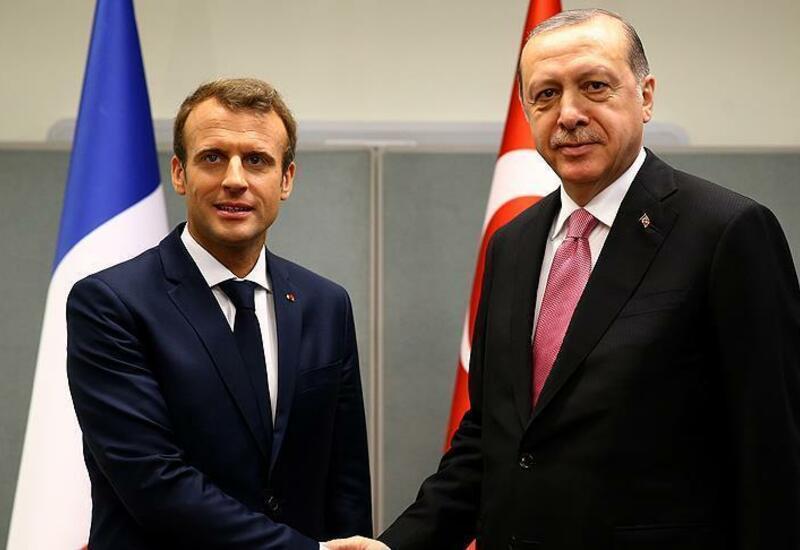 Макрон и Эрдоган обсудят Карабах