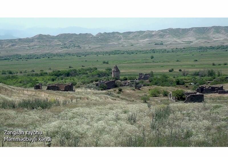 Село Мамедбейли Зангиланского района